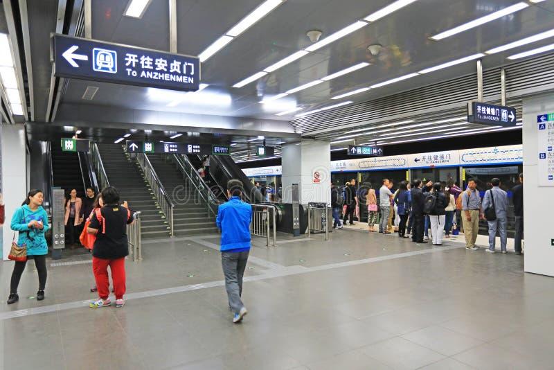 Download подземка пассажиров автомобиля Пекин Редакционное Стоковое Изображение - изображение насчитывающей многодельно, закоммутируйте: 40590444