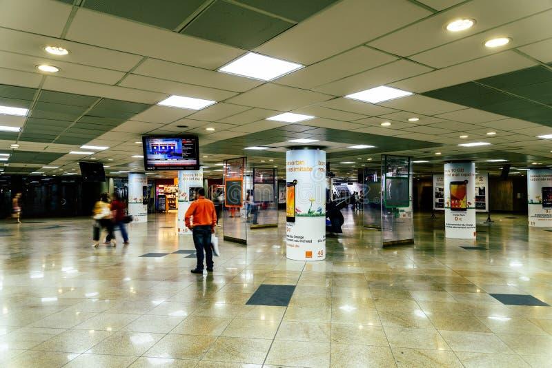 Подземный переход университета в Бухаресте стоковые фотографии rf