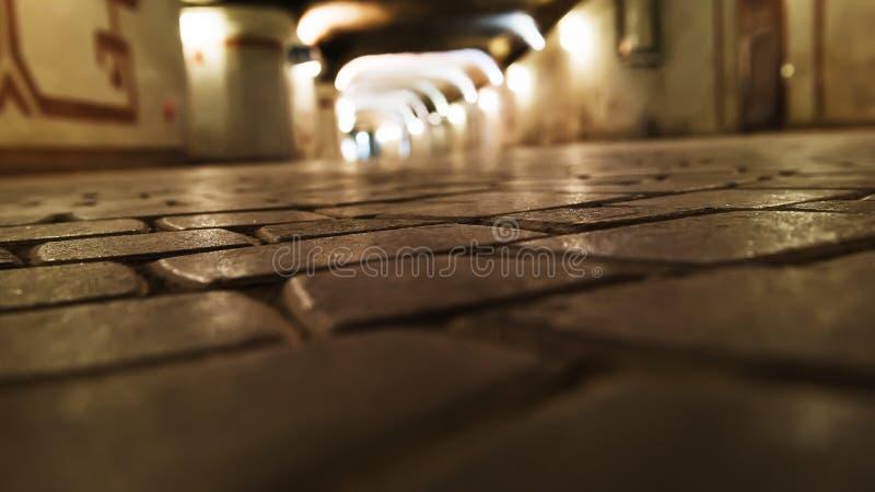 Подземный тоннель стоковое изображение rf