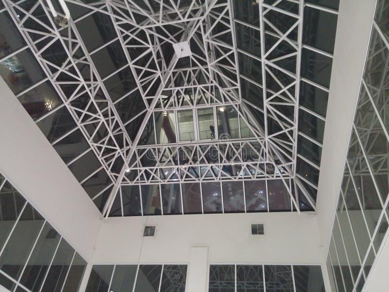 Полигональная крыша стоковая фотография rf