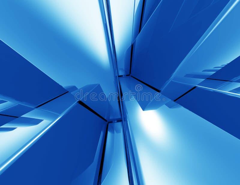 Полигональный дизайн, абстрактная геометрическая предпосылка иллюстрация вектора