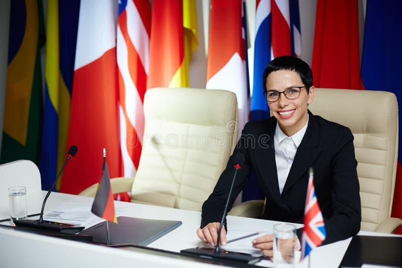 Политический лидер стоковые изображения rf