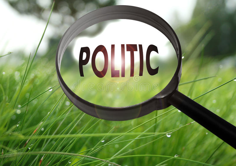 политично стоковая фотография rf