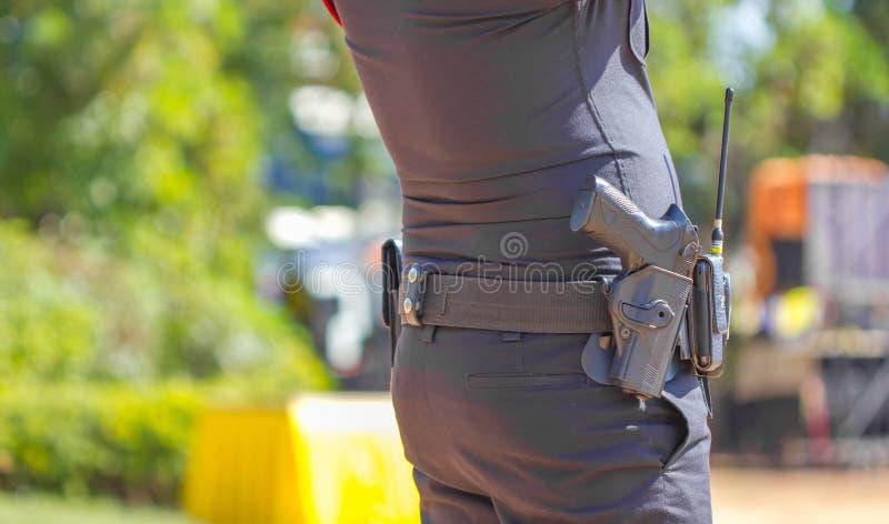 Полицейский Таиланда стоковое изображение