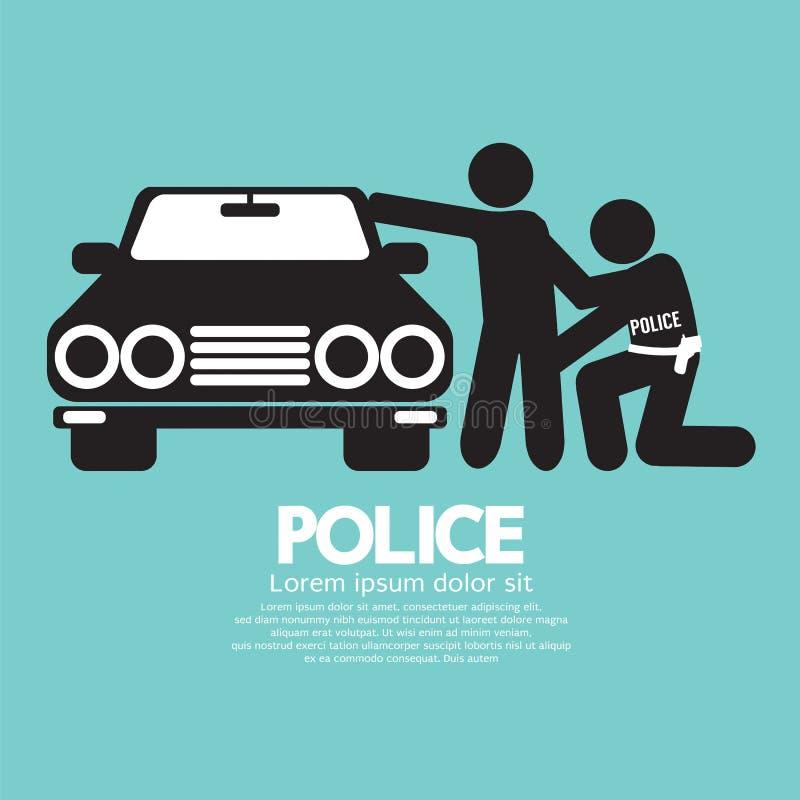 полиции иллюстрация вектора