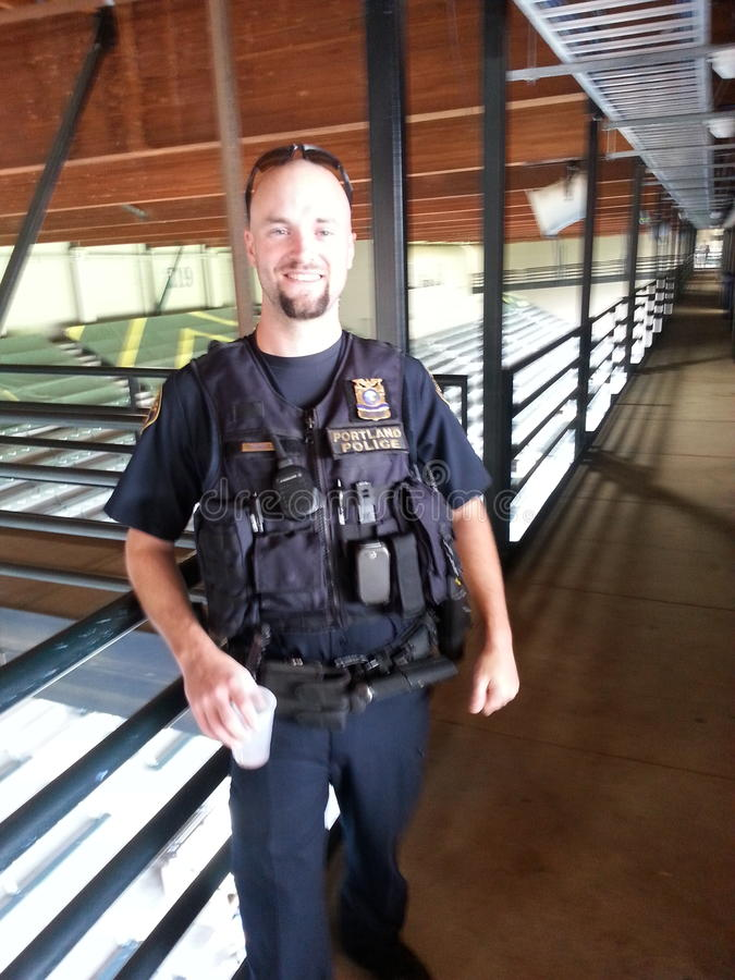 Полиция Портленда стоковое фото rf