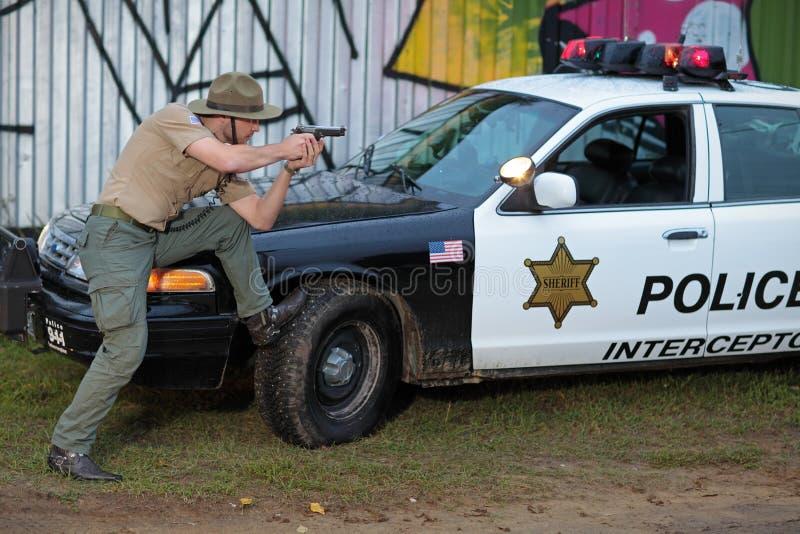 Полиция стоковая фотография rf