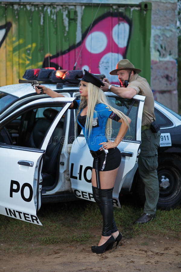 Полиция стоковые фотографии rf