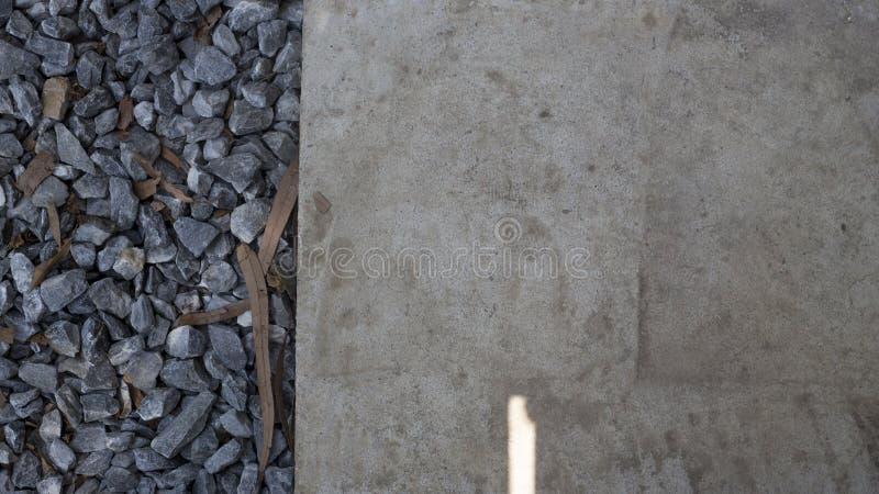 Пол и камни стоковая фотография rf