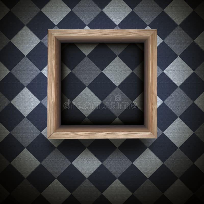 Полка стены стоковое фото rf