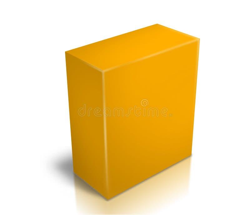 ПО коробки иллюстрация штока