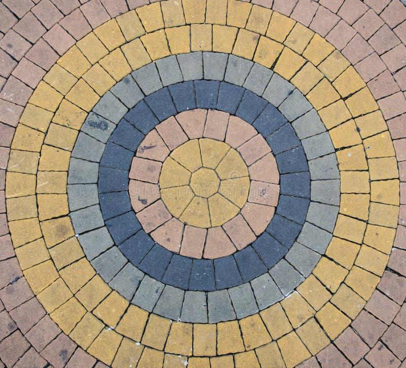 Пол круга каменный стоковая фотография