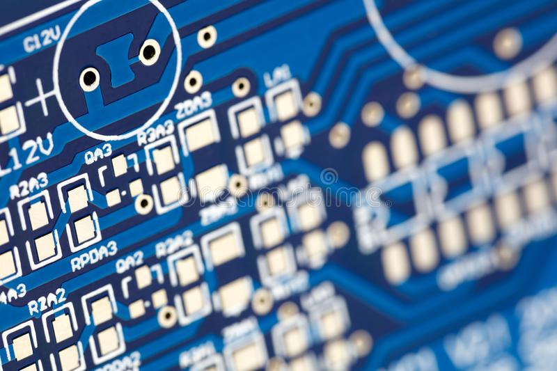 по мере того как доска предпосылки может обойти вокруг пользу Аппаратные технологии электрического счетнорешающего устройства Обл стоковая фотография rf