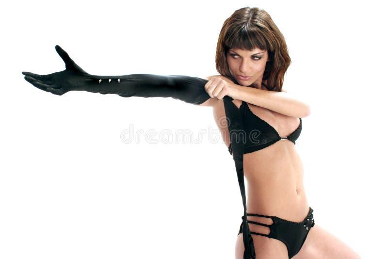 Download по мере того как перчатка девушки она вне кладет достигаемости Стоковое Фото - изображение насчитывающей достижение, appaloosas: 484810