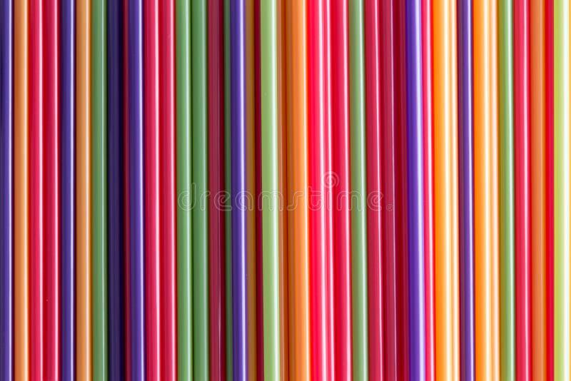 Полная предпосылка рамки красочных выпивая солом стоковые изображения rf
