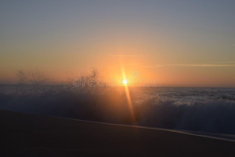 Поднимая Sun стоковая фотография