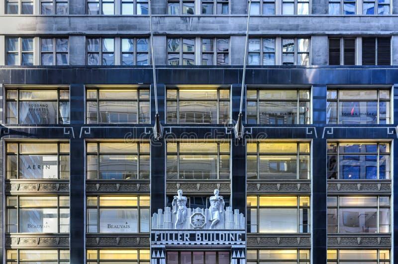 Полное здание - Нью-Йорк стоковые изображения rf