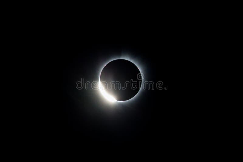 Полное солнечное затмение стоковые фото