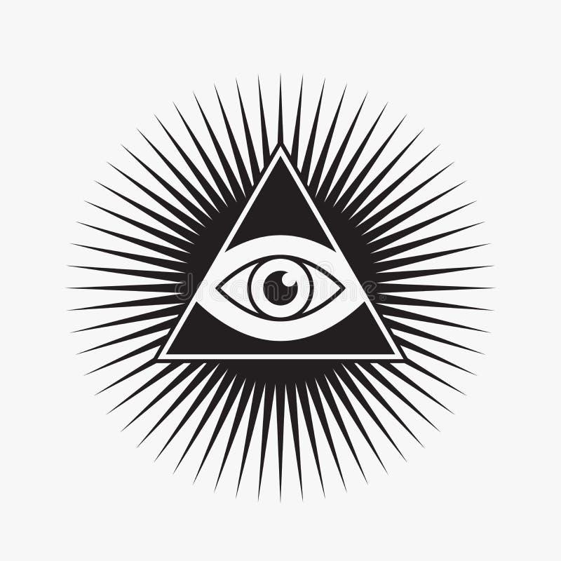 полностью видя символ глаза бесплатная иллюстрация