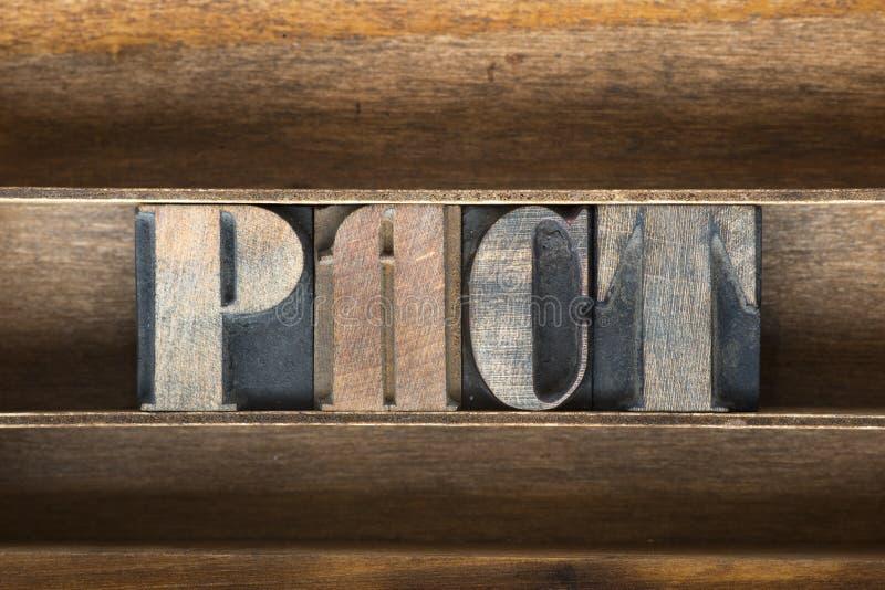 Поднос пакта деревянный стоковые изображения