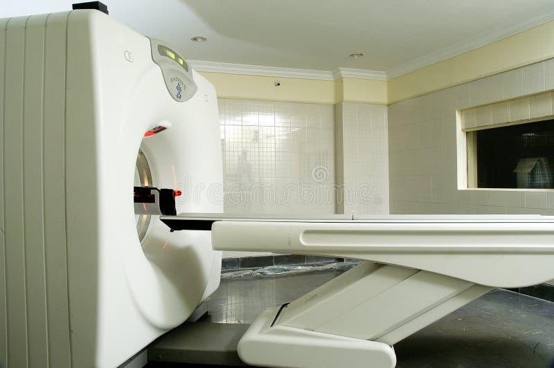 Полный блок развертки CT тела в больнице стоковые фотографии rf
