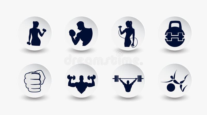 Поднятие тяжестей и фитнес стоковое фото