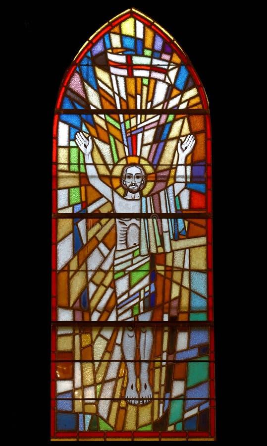 поднятый christ стоковое изображение