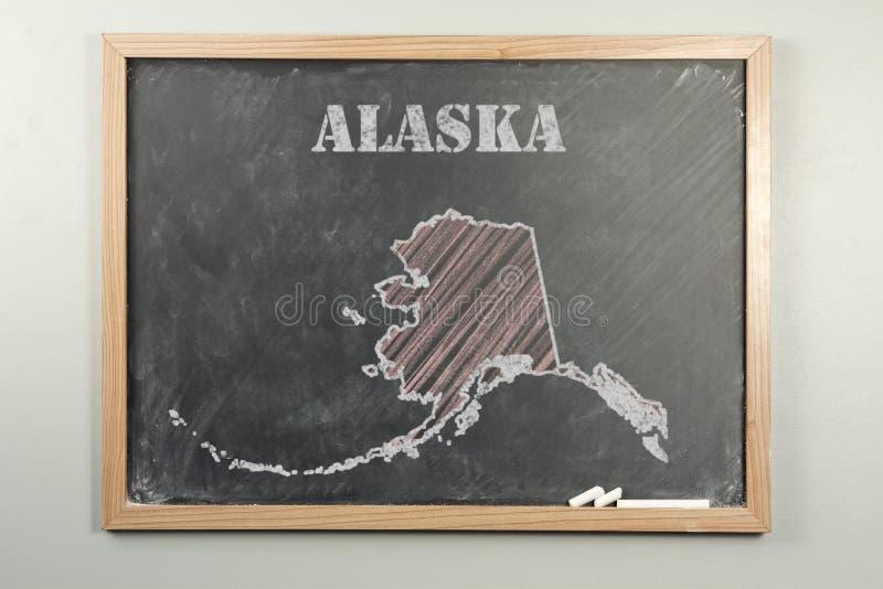 Положение Аляски стоковая фотография