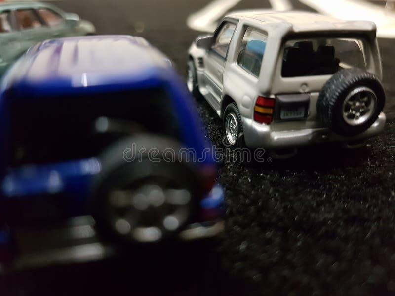 положения автомобиля различные миниатюрные стоковое фото rf