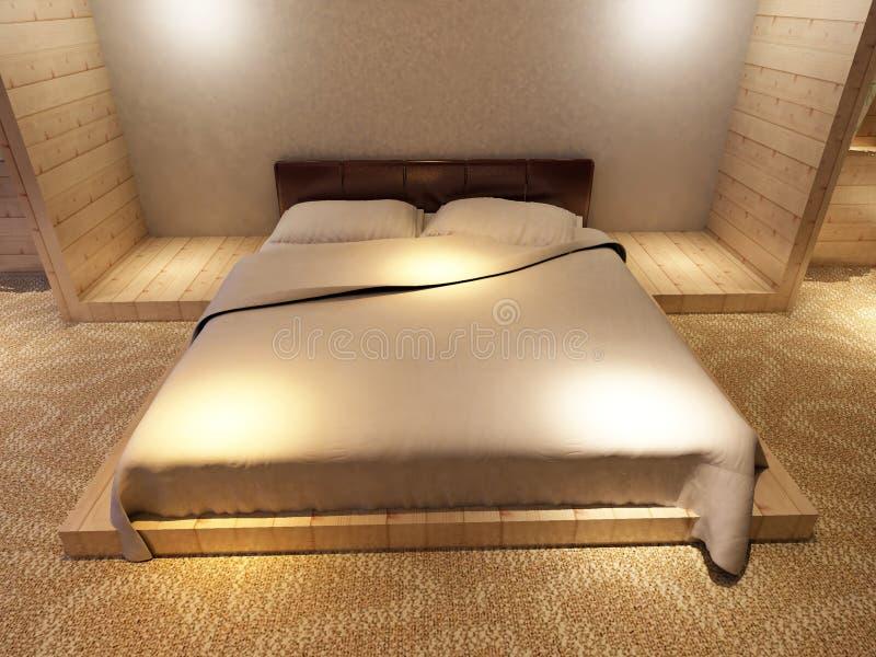 Download Положите комнату в постель иллюстрация штока. иллюстрации насчитывающей роскошь - 81812652