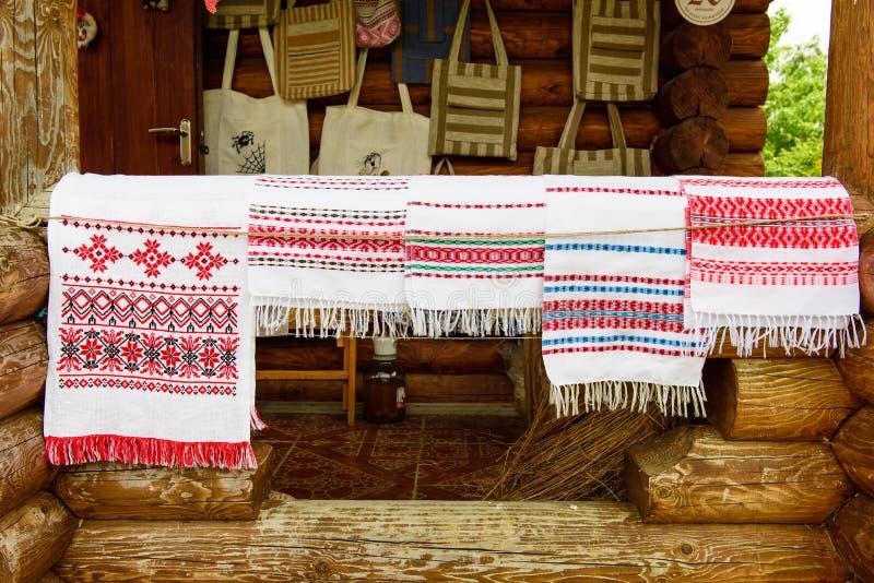 Полотенца (rushniki) стоковое изображение