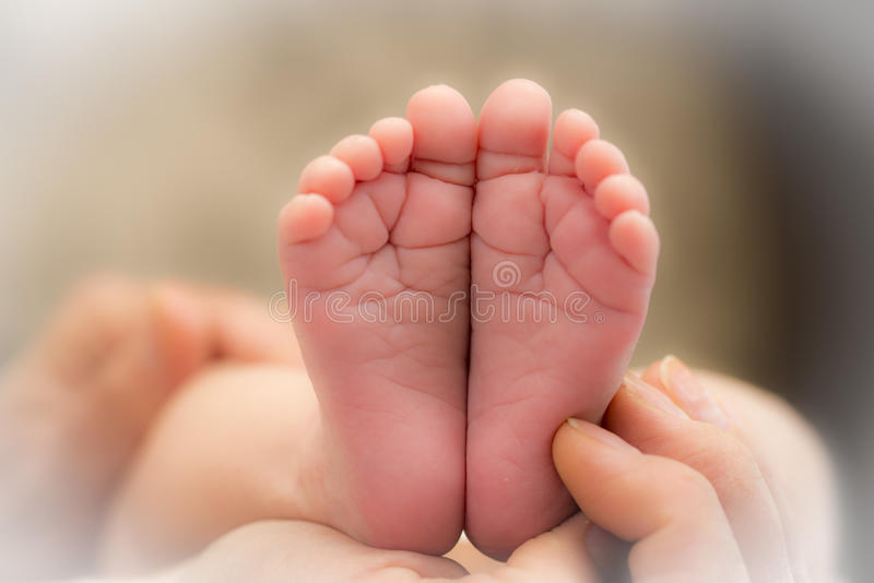 Подошвы младенца стоковые фото