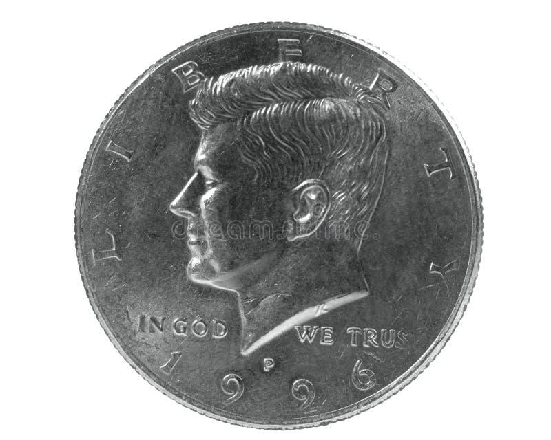 Полдоллара стоковое фото
