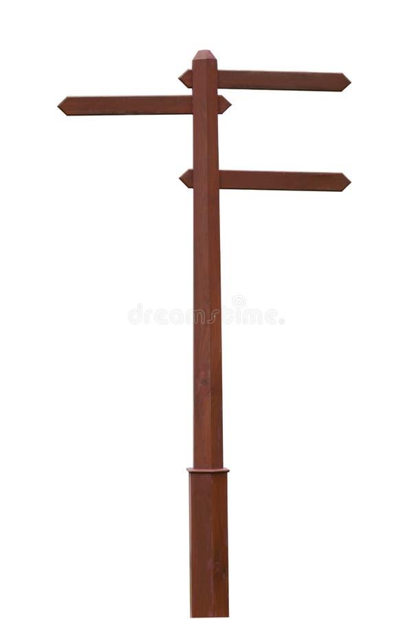 подпишите деревянное стоковое фото
