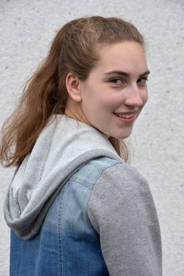 подросток девушки милый стоковые фотографии rf