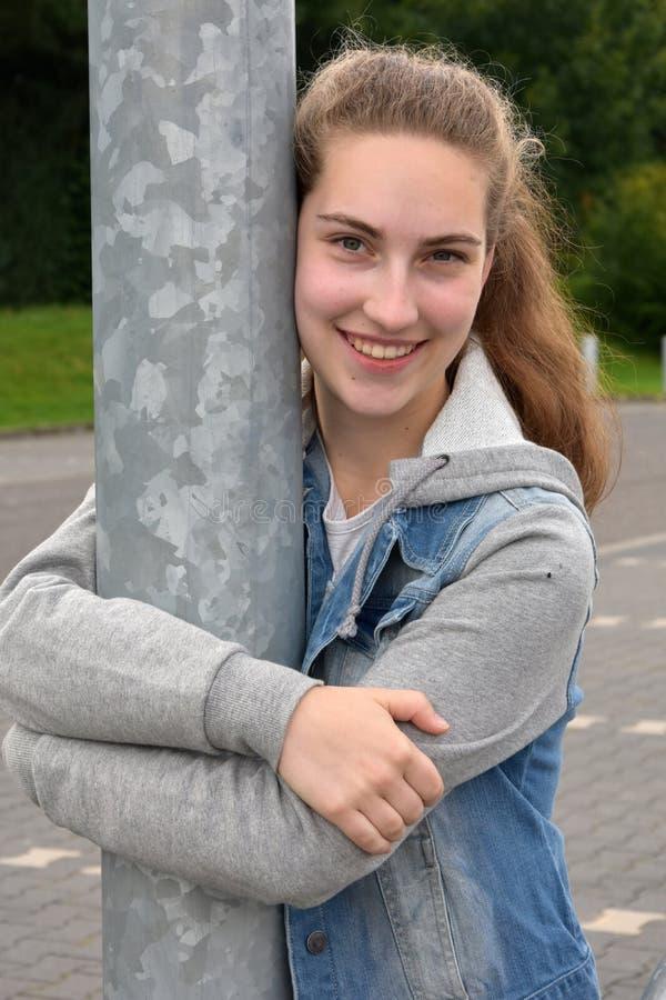 подросток девушки милый стоковая фотография rf