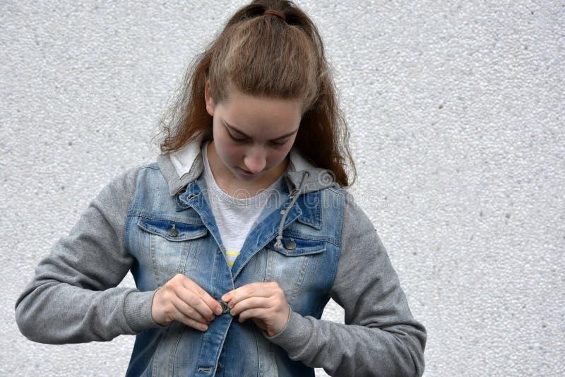 подросток девушки милый стоковые фото