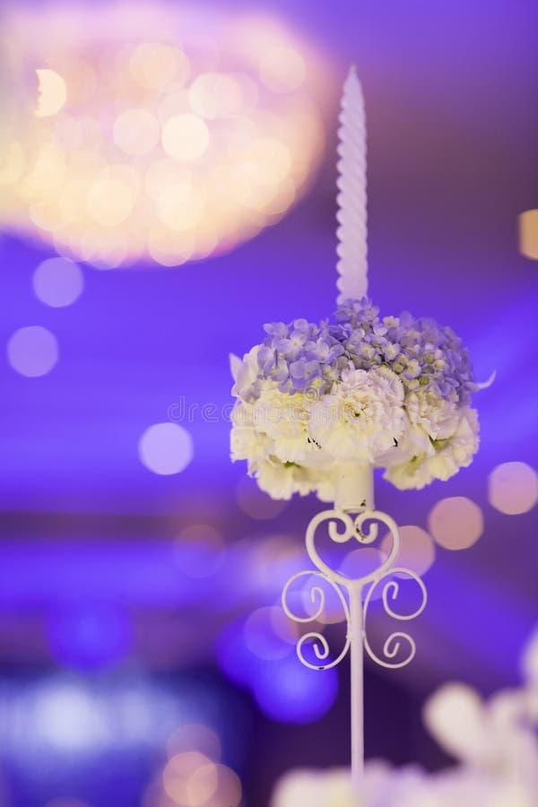 Подсвечник свадьбы стоковое изображение
