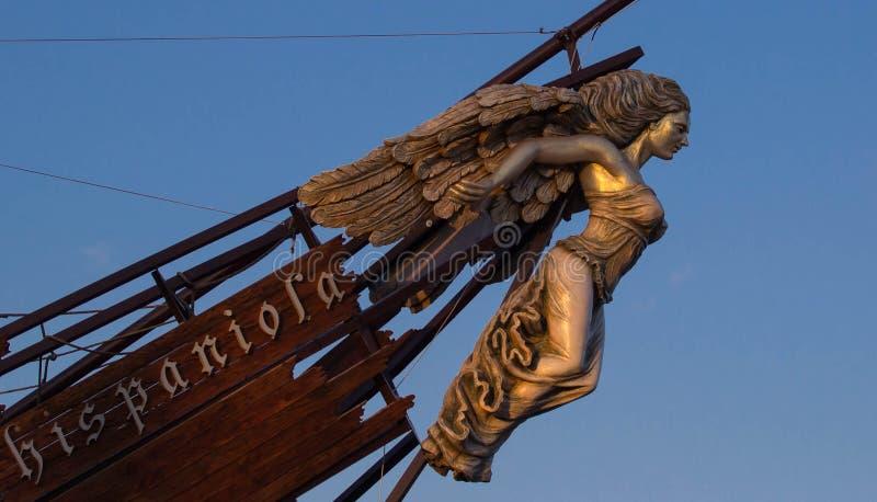 Download Подставное лицо корабля стоковое изображение. изображение насчитывающей суеверие - 51546529