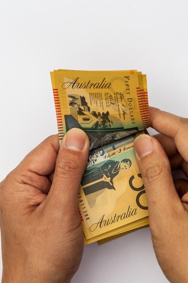 подсчитывать деньги стоковая фотография rf