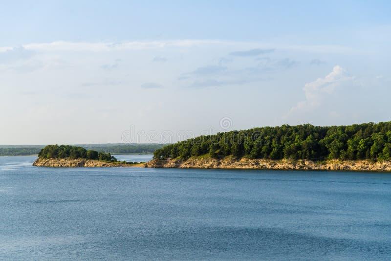 Полуостров озера Гарри s Truman стоковое фото rf