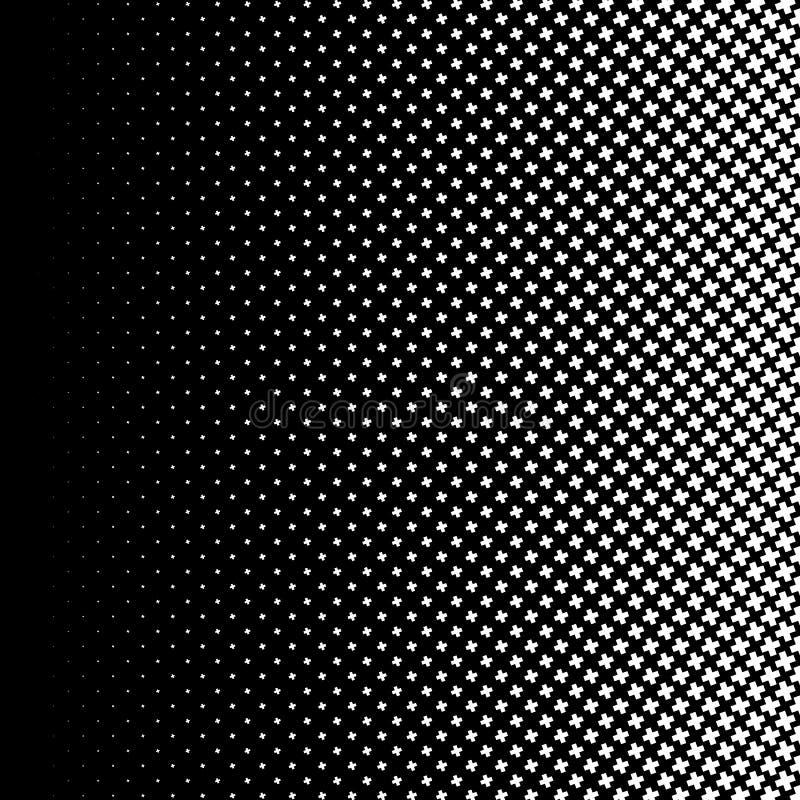 Download Полутоновое изображение любит элемент крестов Однокрасочное абстрактное изображение Иллюстрация вектора - иллюстрации насчитывающей картина, элемент: 81811957