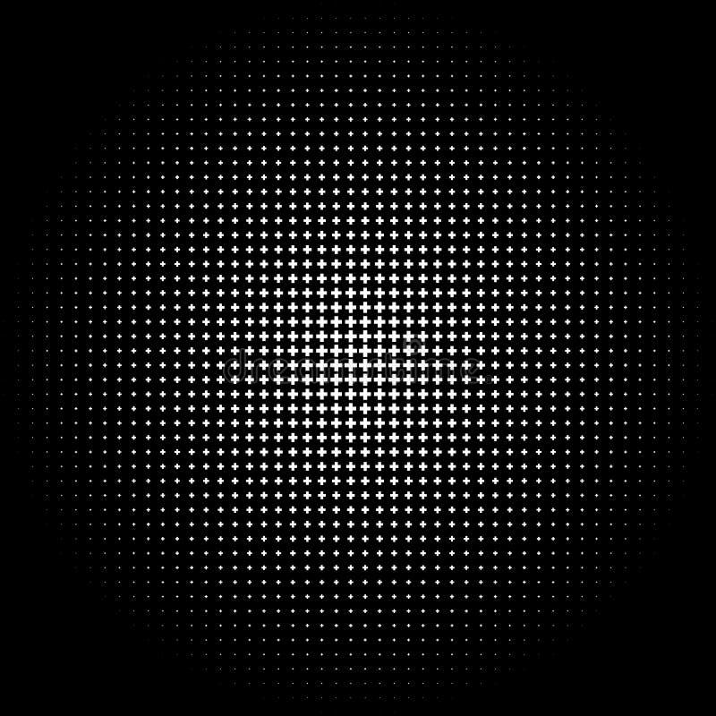 Download Полутоновое изображение любит элемент крестов Однокрасочное абстрактное изображение Иллюстрация вектора - иллюстрации насчитывающей минимально, круг: 81811974