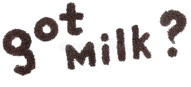 полученное молоко стоковая фотография