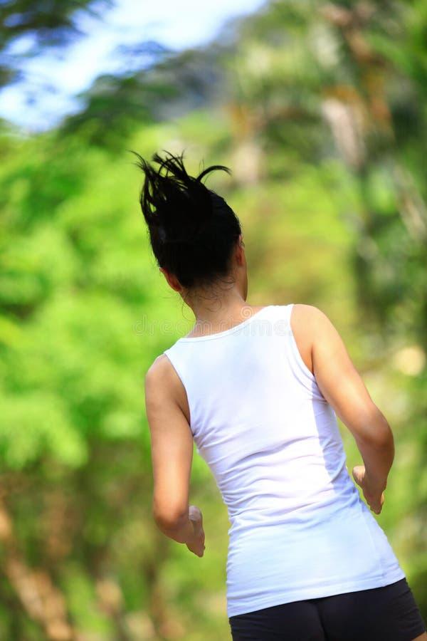 Download подходящая женщина бежать на парке Стоковое Фото - изображение насчитывающей беспечально, женщина: 33734828