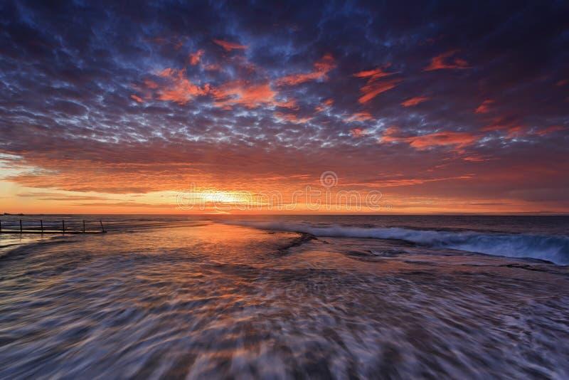 Подъем Вейл Mona моря плоский стоковая фотография