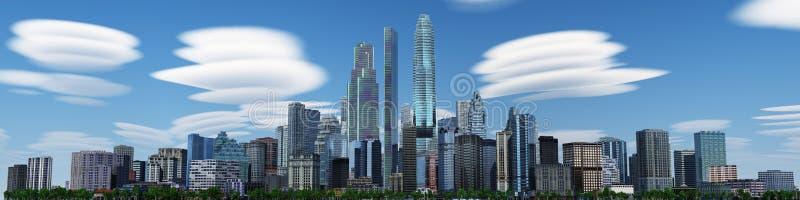 подъем зданий высоко самомоднейший стоковое изображение