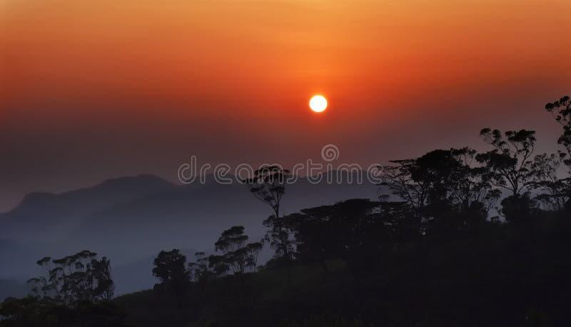 Подъем Солнця стоковая фотография rf