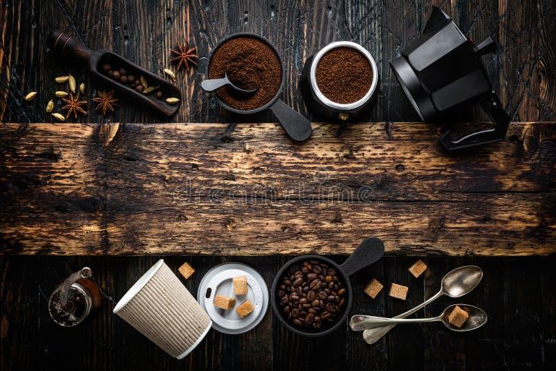 польза кофе предпосылки готовая стоковая фотография rf