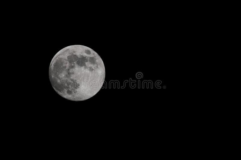 Download Польностью белая луна стоковое фото. изображение насчитывающей поверхность - 33736204